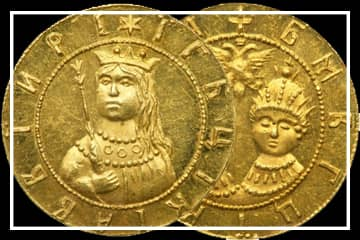 Монеты Софьи Алексеевны