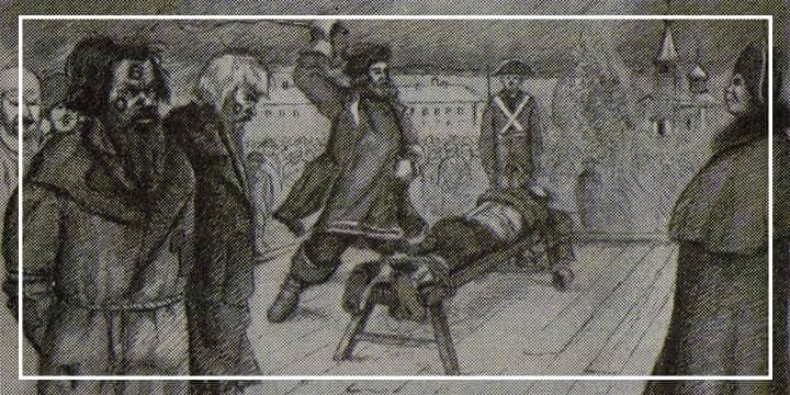 Наказания при Павле Первом