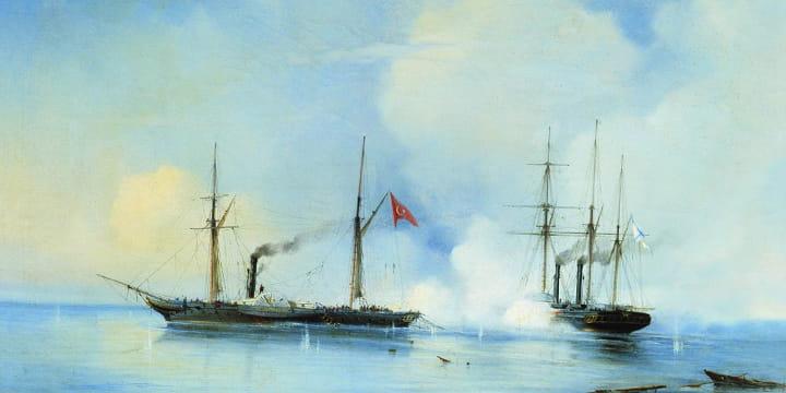 Бой Владимира с пароходом Перваз-Бахри