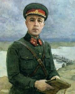 Командир роты саперов Дмитрий Карбышев