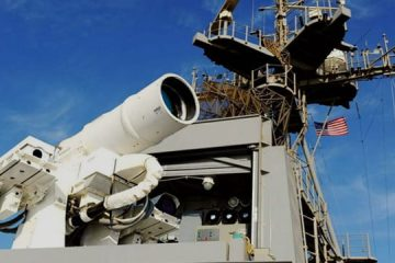 Лазерная установка США