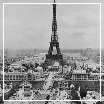 Эйфелева башня, Франция в 60-х