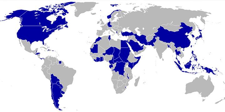 Страны, бойкотировавшиеОлимпиаду-80