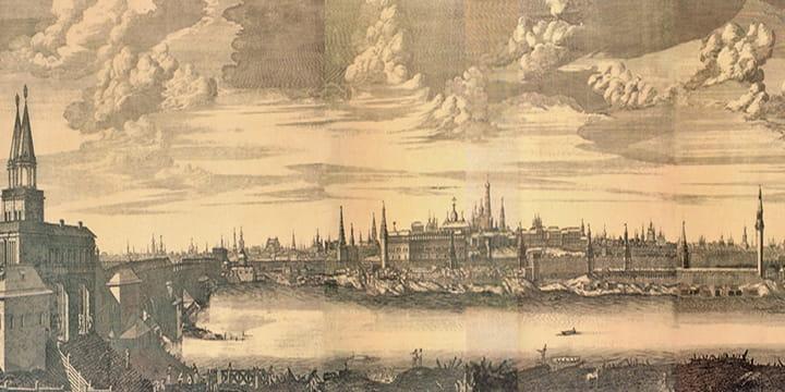 Москва 1707 г.