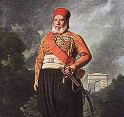 Ибрагим-паша - командующий