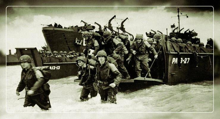 Десант в Нормандии 2