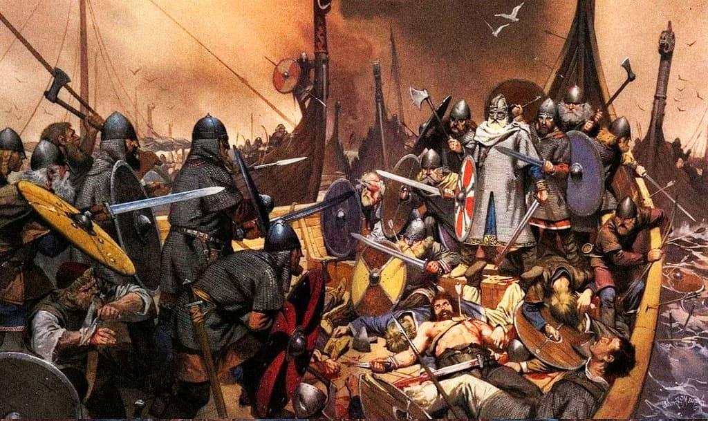 Последний бой Олафа I Трюггвасона