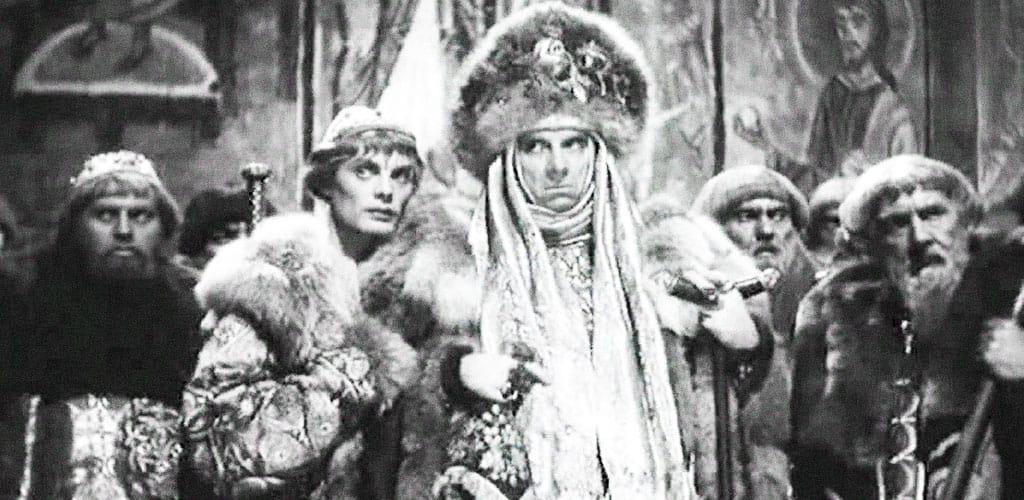 Кадры фильма «Иван Грозный»