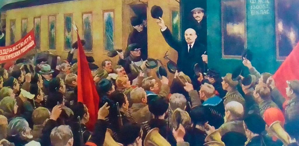 Встреча Ленина с поезда