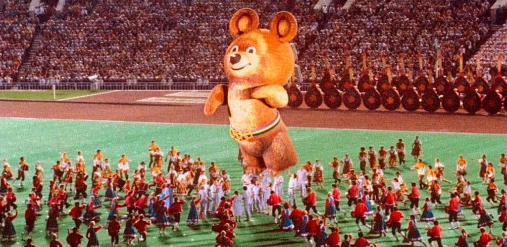 Олимпиада в 1980 году
