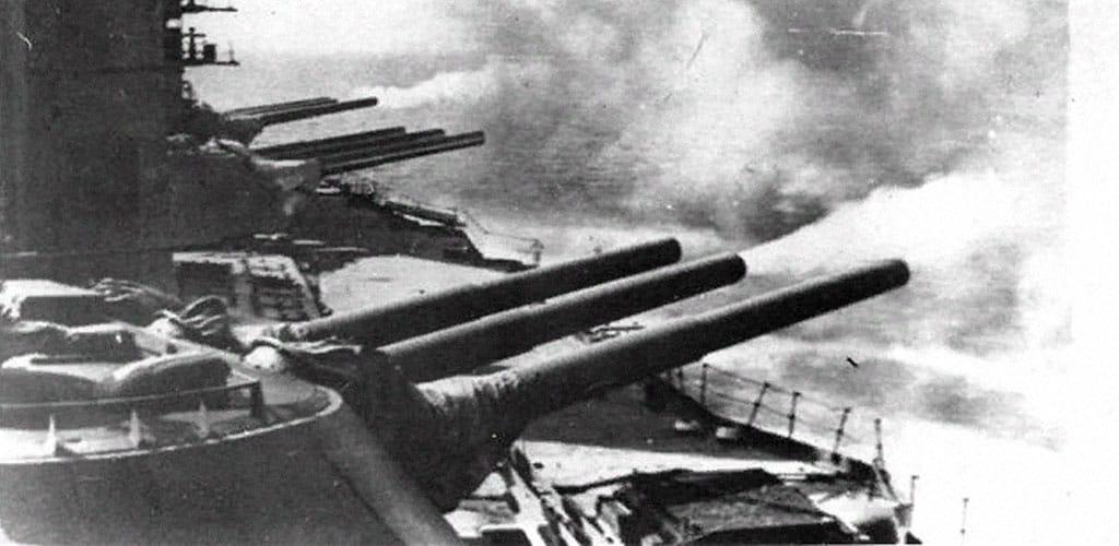 Фото орудий линкора «Севастополь»