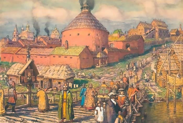 Рисунок Пушечного двора
