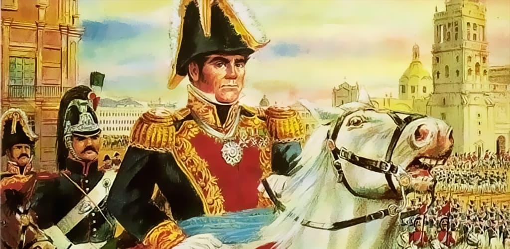 Генерал Антонио Лопес де Санта-Анна