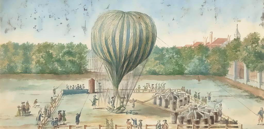 Воздушный шар Пьера Бланшара