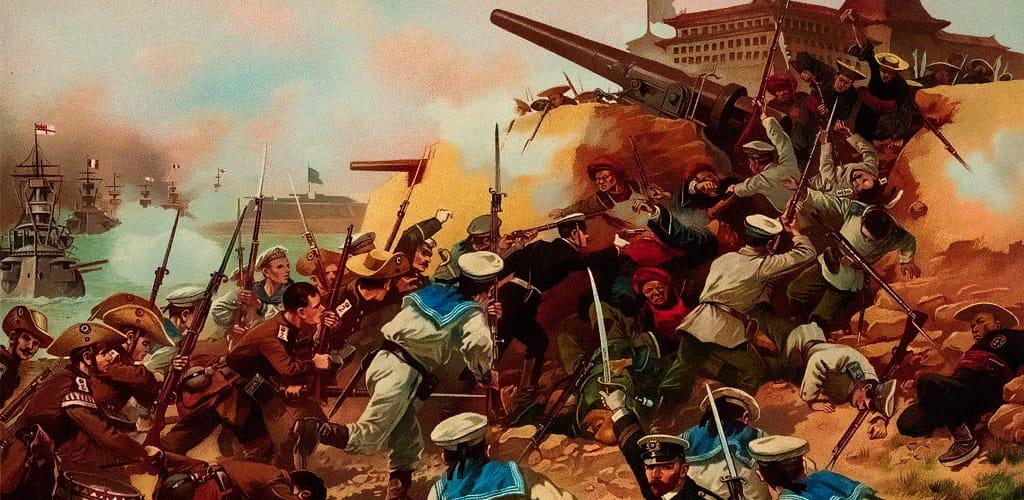 Боксерское восстание год 1901