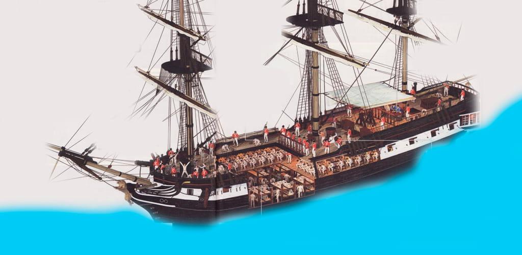 Корабль австралийских каторжников
