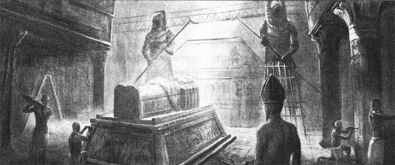 Усыпальница для фараона
