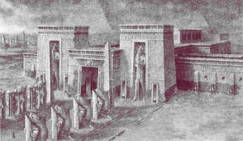 Усыпальница фараона