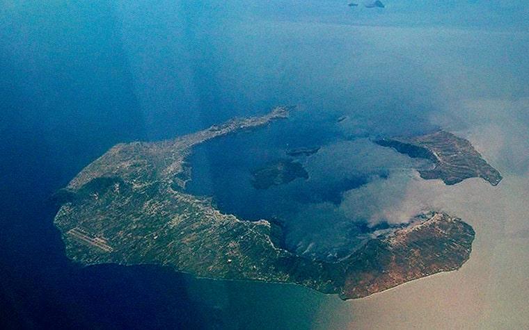 Вулкана Санторин