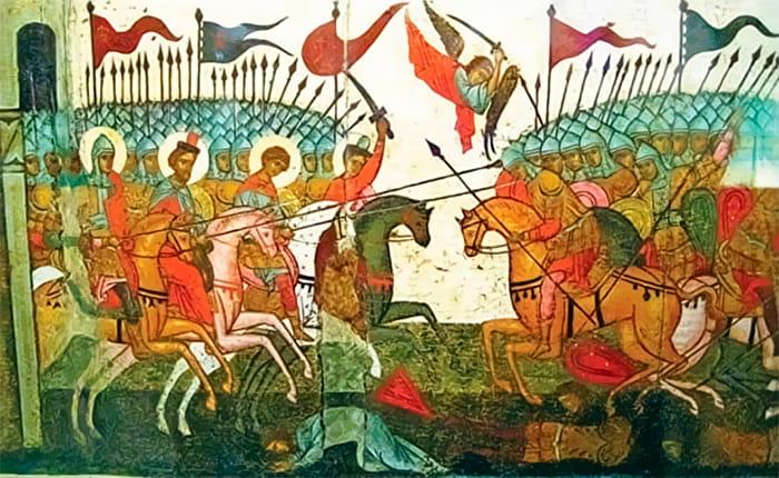 Битва за Новгород 26 января 1135 год